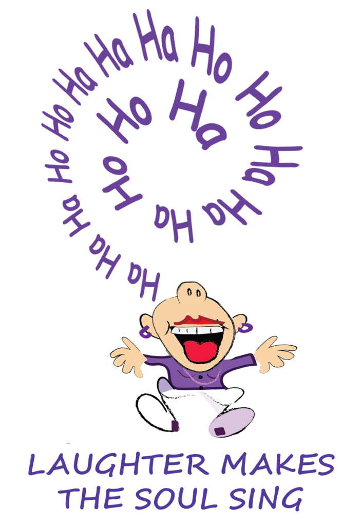 Laughter Yoga with Clare t-shirt design